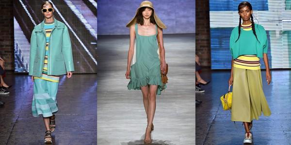 Цвет Люсита: коллекции DKNY, Rebecca Minkoff, DKNY