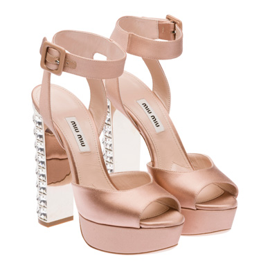 Женская обувь Miu Miu коллекция весна-лето 2015