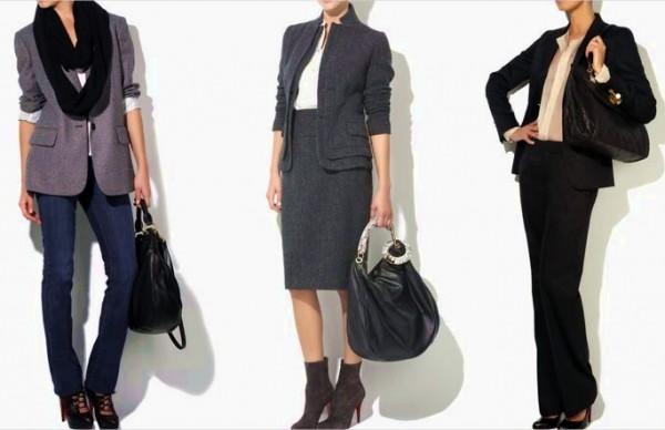 деловая одежда для женщин - строгий корпоративный стиль
