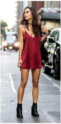 модное платье 2016 фото slip dress