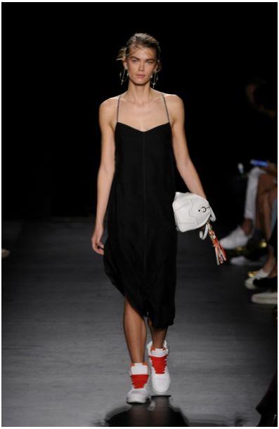 slip dress мода 2016 New York