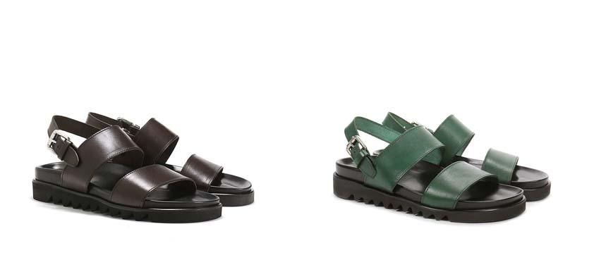 Мужские сандали Pollini весна-лето 2016