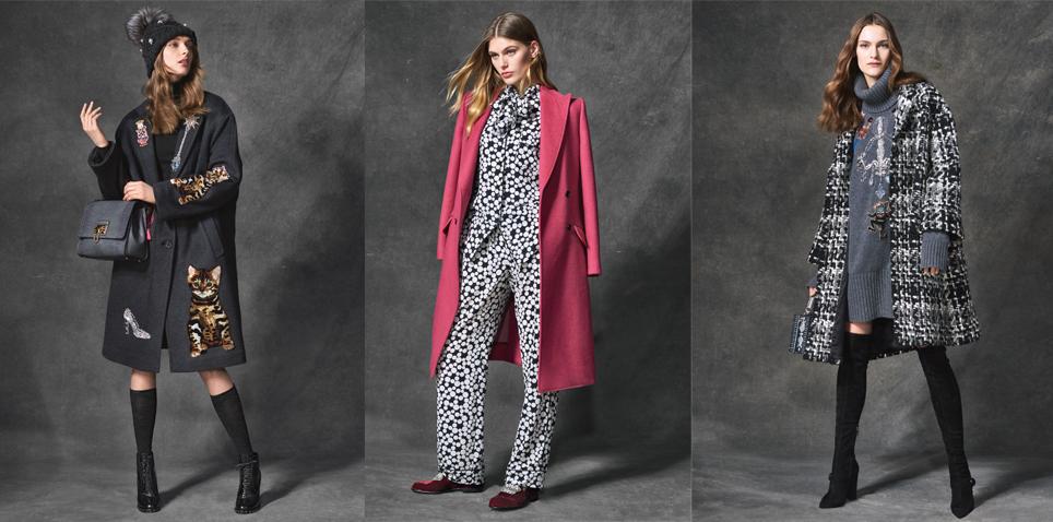 Женские пальто зима 2017