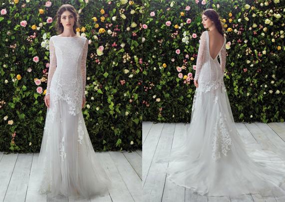 Свадебное платье 2017 кружевное