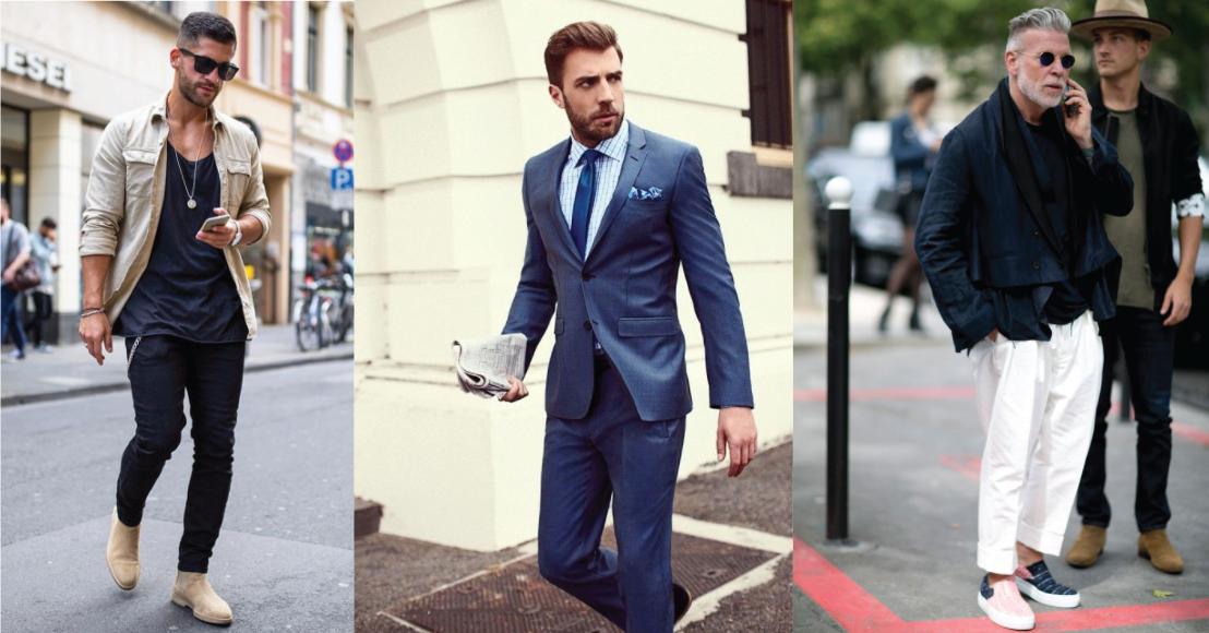 На фото: смешение классики и повседневного стиля помогает мужчине выглядеть стильно и дорого.