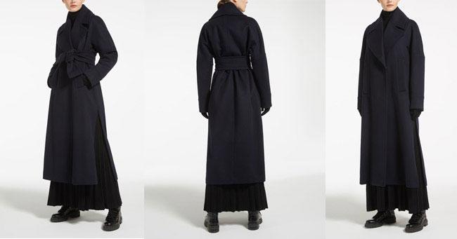 Пальто в пол Max Mara 2018-2019