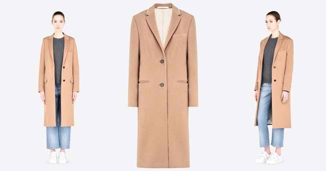 Пальто классика 2018 Valentino