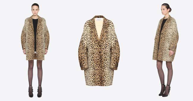 Леопардовое пальто 2018 Valentino