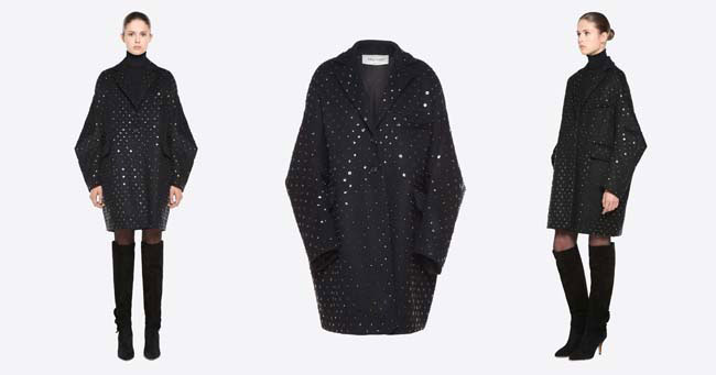 Модное пальто Valentino осень-зима 2018