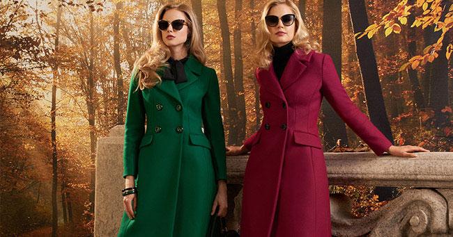 Самые модные пальто Luisa Spagnoli осень-зима 2018-2019