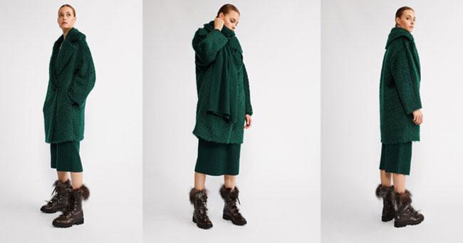 Пальто oversize Fabiana Filippi 2018
