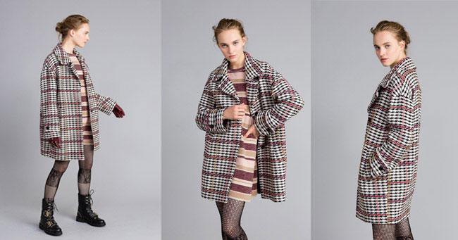 Объемное пальто Twinset осень-зима 2018