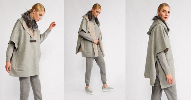 Пальто без рукавов Fabiana Filippi 2018-2019